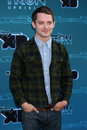 Elijah Wood arrives at the Disney XD's  Royalty Free Stock Photos