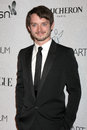 Elijah wood arriving at the rd annual art of elysium gala rooftop of parking garage across from beverly hilton hotel beverly hills Stock Image