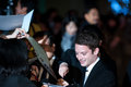Elijah wood december st tokyo japan – appears at the japan premiere for the hobbit an unexpected journey by peter jackson in the Stock Images