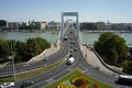 Elisabeth bridge in Budapest Royalty Free Stock Photos