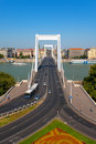 Elisabeth Bridge in Budapest, Hungary Royalty Free Stock Images