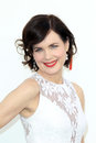 Elizabeth McGovern arriving at the AFI Life Achievement Award Honoring Shirley MacLaine Stock Image