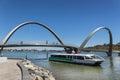 Elizabeth quay on the swann river in perth western australia Stock Image