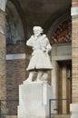 Elizabethan Seaman Statue Royalty Free Stock Photo