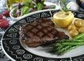Elk steak Royalty Free Stock Photo