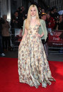 Elle fanning arriving for the premiere of ginger and rosa during the th bfi london film festival at odeon west end london picture Royalty Free Stock Images