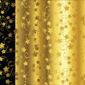 Ellegant background in gold Royalty Free Stock Photos