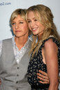 Ellen De Generes,Portia De Rossi Royalty Free Stock Photo