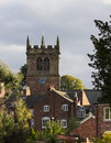 Ellesmere shropshire parish church tower of in in england Royalty Free Stock Photo