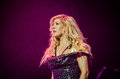 Ellie goulding british singer during a concert from march Stock Photography