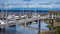 Elliot Bay Marina Royalty Free Stock Photo