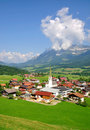 Ellmau in Tyrol,Austria Royalty Free Stock Photo