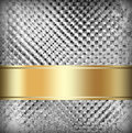 Elsilver and brown background silver with tape design layout soft vintage grunge texture lighting Royalty Free Stock Images