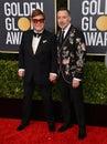 Elton John & David Furnish Royalty Free Stock Photo