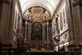 Elvas Cathedral Main Altar Royalty Free Stock Photo