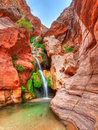 Elves chasm in grand canyon Stock Image
