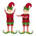 Elves collection isolated on white background