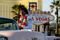 Elvis in Las Vegas Stock Photography
