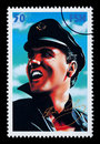 Elvis Presely Postage Stamp Royalty Free Stock Image