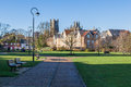 ELY, CAMBRIDGESHIRE/UK - NOVEMBER 23 : View fom the River Great Royalty Free Stock Photo