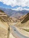 Em um vale perto de leh em ladakh índia Fotografia de Stock Royalty Free