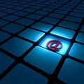 Email Alias Sign Royalty Free Stock Photo