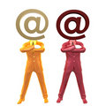 Email contact and support centre icon symbol Royalty Free Stock Photography