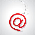 Email icon for business concept Royalty Free Stock Images