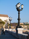 Embankment in Bari Italy Royalty Free Stock Images