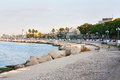 Embankment of bari italy horisontal Royalty Free Stock Photo