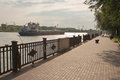 Embankment of Rostov-on-Don Royalty Free Stock Photo
