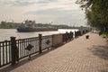Embankment of Rostov-on-Don Royalty Free Stock Photo
