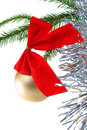 Embellishment cristmas,white background Stock Photos