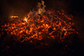 Embers Royalty Free Stock Photo