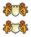 Emblem львы Стоковое Изображение