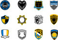 Emblem badges Stock Photo