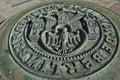 Emblem of Berlin Royalty Free Stock Photo