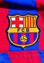 Emblem of FC Barcelona Stock Image