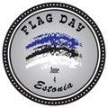 Emblem Flag Day Estonia