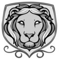 Emblem lwa Fotografia Stock
