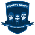 Emblem for security agency
