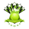 Emblema di tennis Immagine Stock