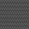 Emboss triangle pattern background Royalty Free Stock Image