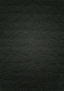 Embossed black paper texture background