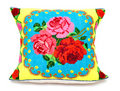 Embroidered pillow Stock Image