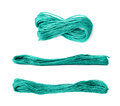 Embroidery thread yarn isolated Royalty Free Stock Photo