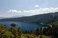 Emerald bay california at lake tahoe Royalty Free Stock Photos