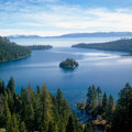 Emerald Bay, Lake Tahoe Stock Image