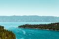 Emerald Bay and Lake Tahoe Royalty Free Stock Photo