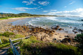 Emerald Beach in Australia Royalty Free Stock Image